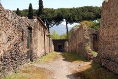 Pompeii ancient Roman city Italy Stock Photo