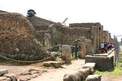 Pompeii ancient Roman city Italy Royalty Free Stock Images