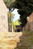 Pompeii ancient Roman city Italy Royalty Free Stock Image