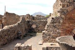Pompeii ancient Roman city Italy Royalty Free Stock Photography