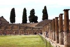 Pompeii ancient Roman city Italy Royalty Free Stock Photos