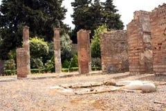 Pompeii ancient Roman city Italy Stock Photography