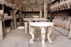 Pompeii ancient Roman city object Italy Stock Photography