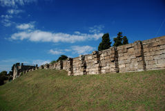 Pompeii ancient walls Royalty Free Stock Photos
