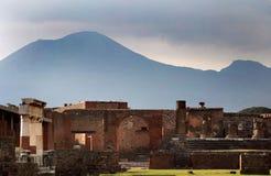 Pompeii antigo fotografia de stock