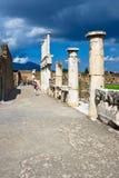 pompeii antyczne ruiny fotografia stock