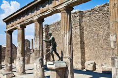 Pompeii - archaeological site Stock Images