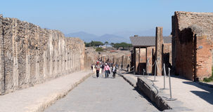 Pompeii Archaeological site, Italy Royalty Free Stock Photography