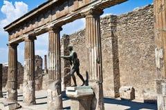 pompeii archeologiczny miejsce obrazy stock