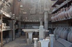 Pompeii Artefacts Stock Photo