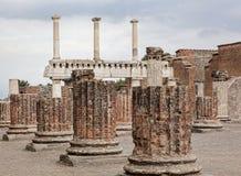 Pompeii basilica Royalty Free Stock Image