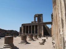 Pompeii basilica Royalty Free Stock Photo