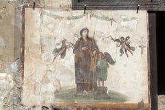 Pompeii Catholic Fresco Royalty Free Stock Photography