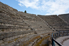 Pompeii Colosseum Stock Photography