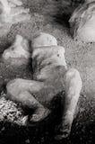 pompeii Dziecko ofiara erupcja Fotografia Royalty Free
