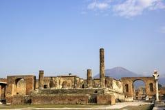 Pompeii fördärvar Fotografering för Bildbyråer