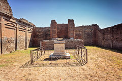 Pompeii fragment Stock Image