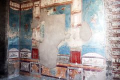 Pompeii fresco Royalty Free Stock Photography