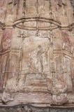 Pompeii frescoes Stock Photo