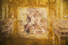Pompeii frescoes Stock Images