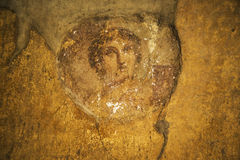 Pompeii frescoes Royalty Free Stock Photos