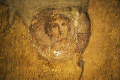 Pompeii frescoes Royalty Free Stock Photos