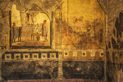 Pompeii frescoes Royalty Free Stock Images