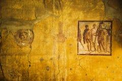 Pompeii frescoes Royalty Free Stock Image