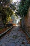 Pompeii garden Stock Photo