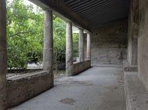 Pompeii gymnasium Stock Photos