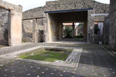 Pompeii Royalty Free Stock Photos