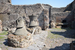 Pompeii - Itália Fotos de Stock Royalty Free