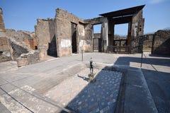 Pompeii - Itália Fotos de Stock