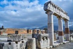 Pompeii, Italia Fotografie Stock