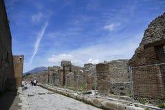 Pompeii, Italia Fotografía de archivo