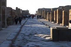 Pompeii, Italie image libre de droits