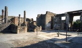 Pompeii Italien Royaltyfria Foton