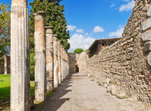 Pompeii Italien Royaltyfri Bild