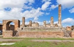 Pompeii Italien Arkivfoto