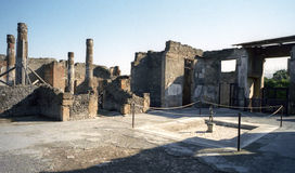 Pompeii, Italy Royalty Free Stock Photos