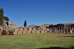 Pompeii, Italy Foto de Stock Royalty Free