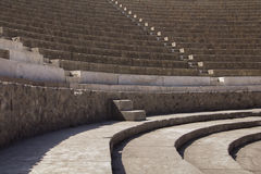 Pompeii, Italy. Amphitheater detail at Pompeii, Italy Stock Images