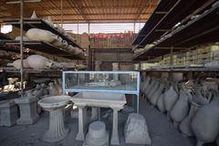 Pompeii - Italy Royalty Free Stock Photo