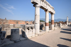 Pompeii - Italy Stock Photo