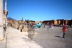 Pompeii, Italy: ancient Roman city Royalty Free Stock Photography