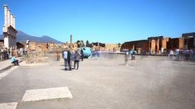 Pompeii, Italy: ancient Roman city Royalty Free Stock Photos