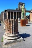 Pompeii, Italy: Mitoraj statue Stock Images