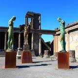 Pompeii, Italy: Mitoraj statue Stock Photography