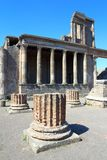 Pompeii, Italy: Mitoraj statue Royalty Free Stock Photography