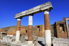 Pompeii, Italy Ruins. The ruins of ancient Pompeii, Italy Stock Images